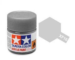 Tamiya Acrylic Flat Paint (10ml) - Flat Aluminum