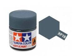 Tamiya Acrylic Flat Paint (10ml) - Medium Blue