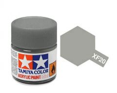 Tamiya Acrylic Flat Paint (10ml) - Medium Grey
