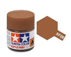 Tamiya Acrylic Flat Paint (10ml) - Dark Copper