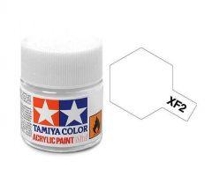 Tamiya Acrylic Flat Paint (10ml) - Flat White