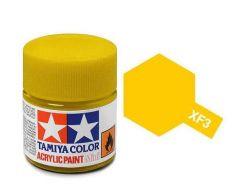 Tamiya Acrylic Flat Paint (10ml) - Flat Yellow