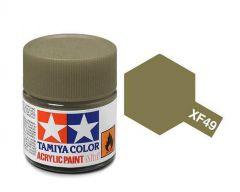Tamiya Acrylic Flat Paint (10ml) - Khaki