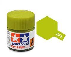 Tamiya Acrylic Flat Paint (10ml) - Yellow Green