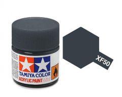 Tamiya Acrylic Flat Paint (10ml) - Field Blue