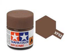 Tamiya Acrylic Flat Paint (10ml) - Flat Earth