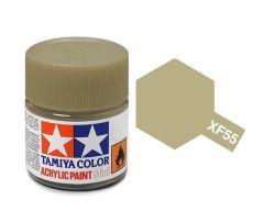 Tamiya Acrylic Flat Paint (10ml) - Deck Tan
