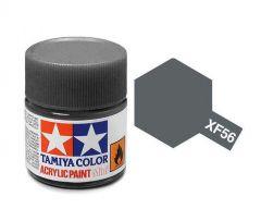 Tamiya Acrylic Flat Paint (10ml) - Metallic Grey