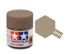 Tamiya Acrylic Flat Paint (10ml) - Buff