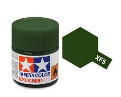 Tamiya Acrylic Flat Paint (10ml) - Flat Green