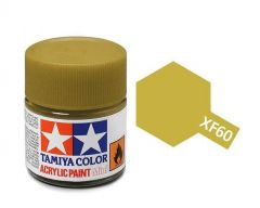 Tamiya Acrylic Flat Paint (10ml) - Dark Yellow