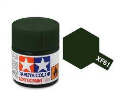 Tamiya Acrylic Flat Paint (10ml) - Dark Green