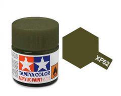 Tamiya Acrylic Flat Paint (10ml) - Olive Drab