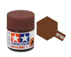 Tamiya Acrylic Flat Paint (10ml) - Nato Brown