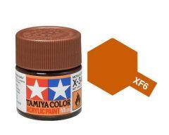 Tamiya Acrylic Flat Paint (10ml) - Copper