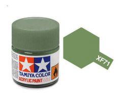 Tamiya Acrylic Flat Paint (10ml) - Cockpit Green (ijn)