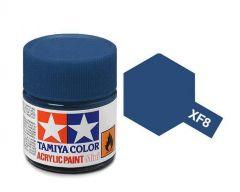Tamiya Acrylic Flat Paint (10ml) - Flat Blue