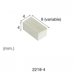 Aedes Ars Mottled Wall Stone 4 x 4 x 8 (Pack of 500 Stones)