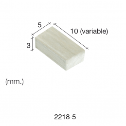 Aedes Ars Mottled Wall Stone 5 x 10 x 3 (Pack of 500 Stones)