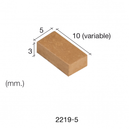 Aedes Ars Red Wall Stone 5 x 10 x 3 (Pack of 500 Stones)
