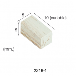 Aedes Ars Mottled Wall Stone 5 x 10 x 5 (Pack of 3000 Stones)