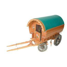 Barrel-type Caravan - Plan