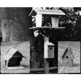 Bird Tables and Boxes Plan