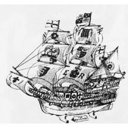 Old Time Ship Plans - Pack of 4
