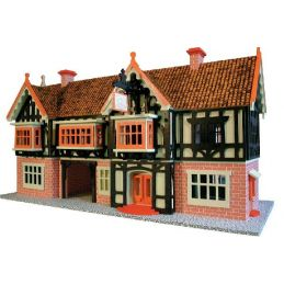 Country Inn 24th Scale Dolls House Plan - Wood Pack