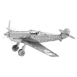 Metal Earth Messerschmitt Bf-109 Plane 3D Metal Model Kit