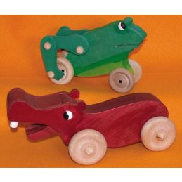 Freddie Frog and Horace Hippo toys - Plan