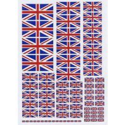 Union Jacks Custom Decals
