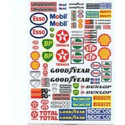 Sponsors Custom Decals