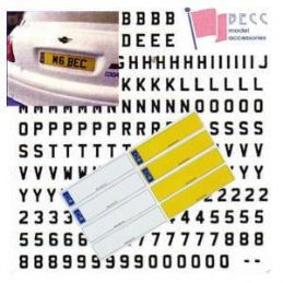 License Plate and Lettering Sets