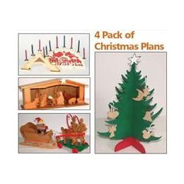 4 Pack Of Christmas Plans
