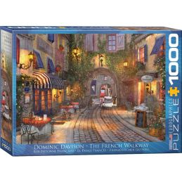 Eurographics The French Walkway 1000 Piece Jigsaw