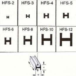 Plastruct H Columns