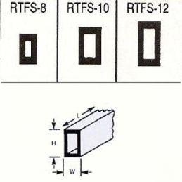 Plastruct Rectangular Box Section