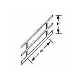 Plastruct Stair Rails