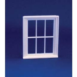 24th Scale Victorian 6 Pane Window