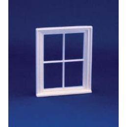 24th Scale Victorian 4 Pane Window