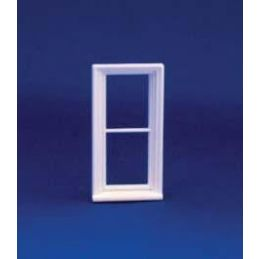 24th Scale Victorian Narrow 2 Pane Window