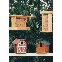 Bird Shelters and Feeders Plan