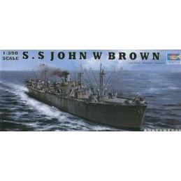 Trumpeter John W Brown WW2 Liberty Ship Plastic Model Kit