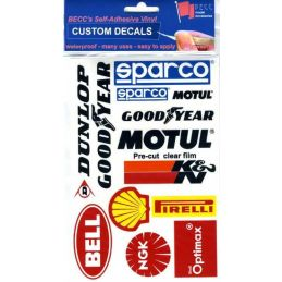 Sponsors Large Logo's Vinyl Sheet