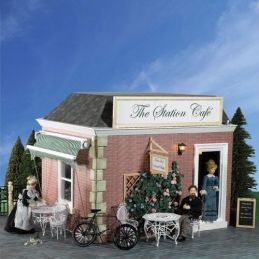 The Station Cafe 1 12 Scale Dolls House Kit