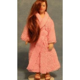 Poseable Lady In Robe