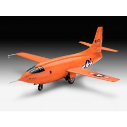 Revell Bell X-1 Supersonic Aircraft 1/32nd Scale Model Kit - Starter Paint Pack (9)