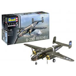 Revell B-25C D Mitchell Model Kit