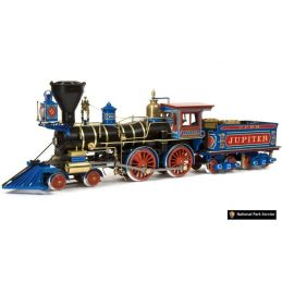 Occre Jupiter Locomotive American Wild West Steam Train Model Kit